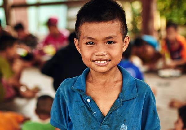 Feed malnourished children