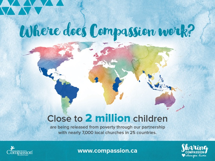 Where does Compassion work
