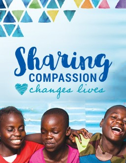 Sharing Compassion Poster